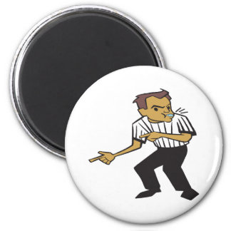Basketball Referee Magnet