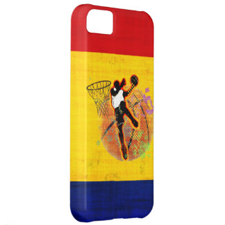 Basketball Retro iPhone 5C Cases