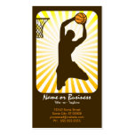 basketball : retro rays : business cards