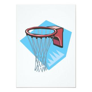 Basketball Rim Card