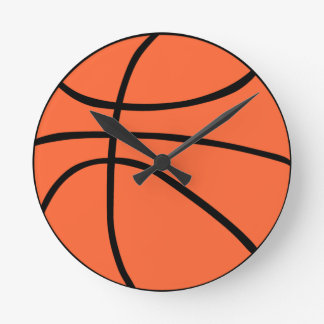 Basketball Round Clock