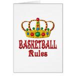 BASKETBALL RULES CARD