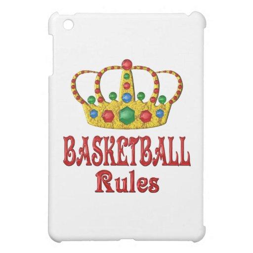BASKETBALL RULES CASE FOR THE iPad MINI