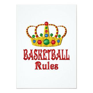 BASKETBALL RULES CUSTOM INVITES