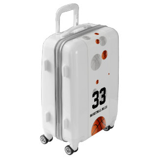 Basketball Rules Sport Gift | Scattered balls Luggage