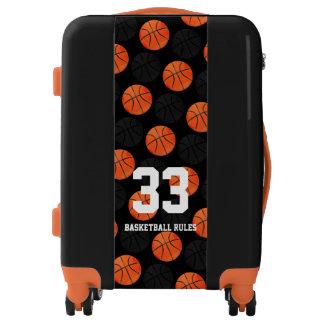 Basketball Rules | Sports Balls Pattern Gift Luggage