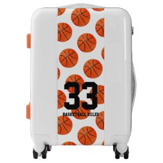 Basketball Rules | Sports Pattern Gift Luggage