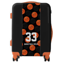 Basketball Rules | Sports Pattern Gift Luggage