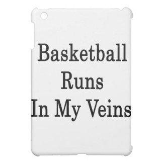 Basketball Runs In My Veins iPad Mini Cover