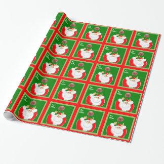 Basketball Santa Wrapping Paper