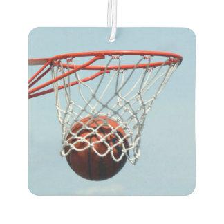 Basketball score air freshener