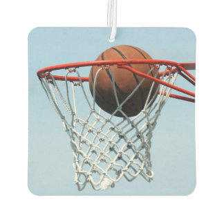 Basketball score car air freshener