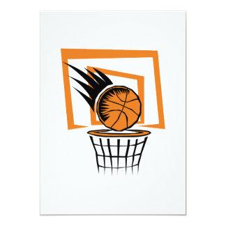 basketball score graphic card