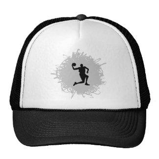 Basketball Scribble Style Trucker Hat