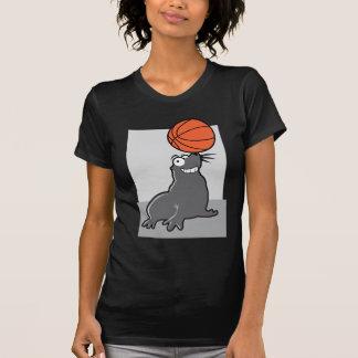 Basketball Seal Tee Shirt
