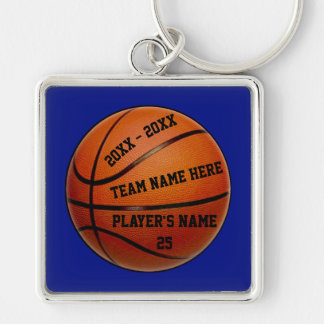 Basketball Senior Night Gifts Your Text, Colors Keychain