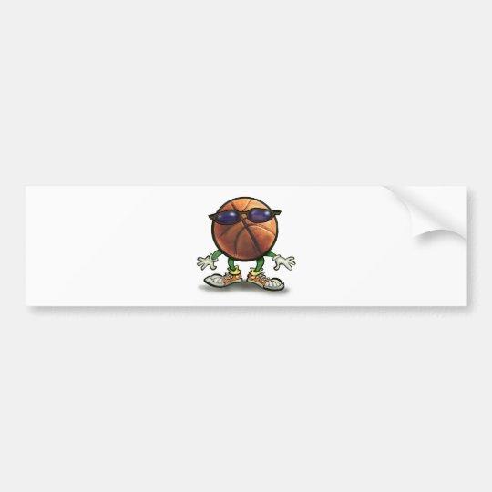 Basketball Shades Bumper Sticker