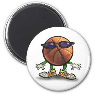 Basketball Shades Magnet