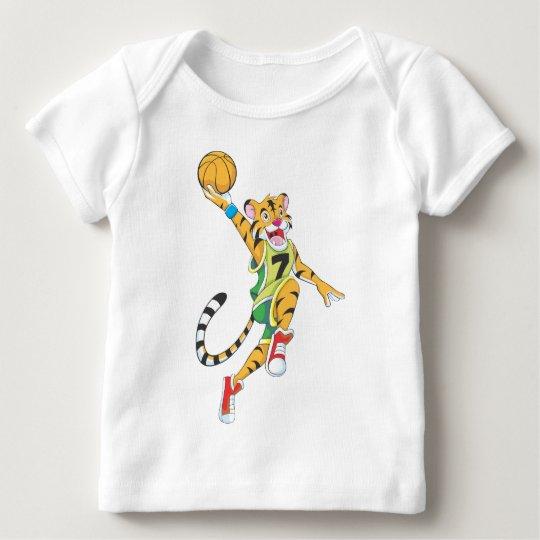 Basketball Shirts - Tiger Slam Dunk Basketball