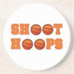 Basketball Shoot Hoops T-shirts and Gifts Coasters