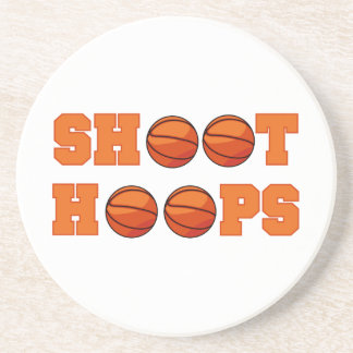 Basketball Shoot Hoops T-shirts and Gifts Drink Coaster
