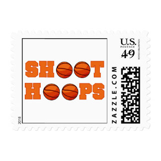 Basketball Shoot Hoops T-shirts and Gifts Postage