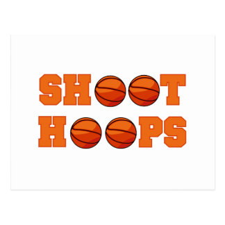 Basketball Shoot Hoops T-shirts and Gifts Postcard