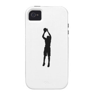 Basketball Shooter Silhouette Case-Mate iPhone 4 Covers