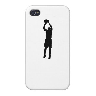 Basketball Shooter Silhouette Cases For iPhone 4