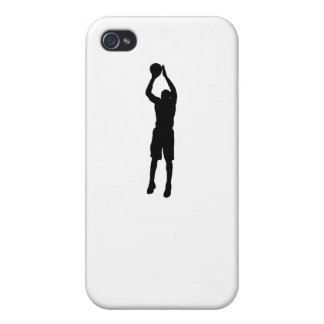 Basketball Shooter Silhouette iPhone 4 Cover