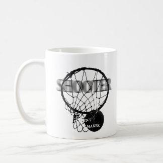 Basketball: Shooter vs. Maker Coffee Mug
