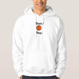 basketball, Shootin', Hoops Hoodie