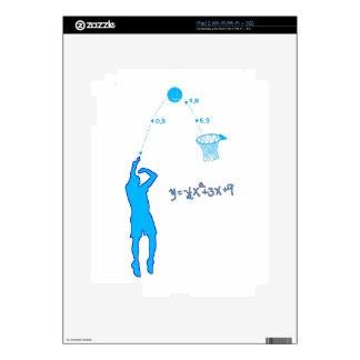 Basketball Shot and Quadratic equation iPad 2 Skin