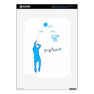 Basketball Shot and Quadratic equation iPad 3 Decal