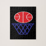 Basketball Sign Jigsaw Puzzle