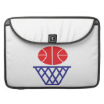 Basketball Sign MacBook Pro Sleeve
