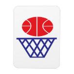 Basketball Sign Magnet