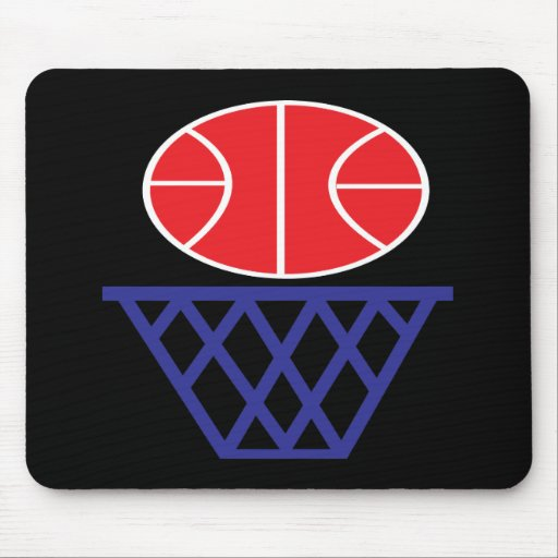 Basketball Sign Mouse Pad