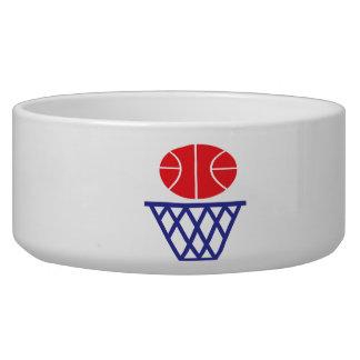 Basketball Sign Dog Bowl