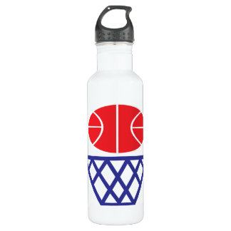 Basketball Sign 24oz Water Bottle