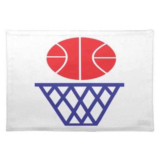 Basketball Sign Place Mat