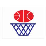 Basketball Sign Postcard