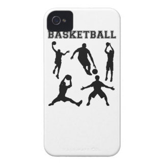 Basketball Silhouettes iPhone 4 Case-Mate Cases