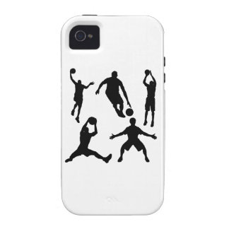 Basketball Silhouettes Case-Mate iPhone 4 Covers