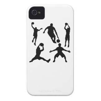 Basketball Silhouettes iPhone 4 Covers