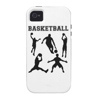 Basketball Silhouettes Case For The iPhone 4