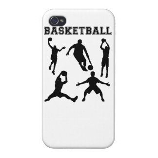 Basketball Silhouettes iPhone 4/4S Cover