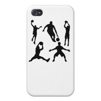 Basketball Silhouettes iPhone 4/4S Cases