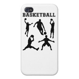 Basketball Silhouettes iPhone 4 Cover