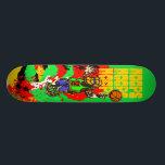 "Basketball Skateboard Deck<br><div class=""desc"">Basketball T shirts and Gifts features a basketball player spinning a basketball on the tip of his extended finger.</div>"